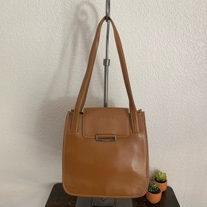 Cole Haan | Vintage brown leather shoulder bag